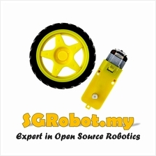 Yellow Smart Car Robot 3v 6v DC TT (end 8/17/2020 10:15 PM)