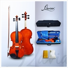 Flavian K-1 Gloss Violin+Oblong Hardcase+Blanket+Bow+Rosin