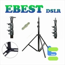 Portable Studio Lighting Stand 2.8m Air Cushioned Light Stand