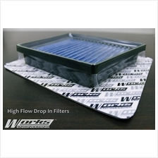 Works Engineering Washable Dropin Air Filter USA Toyota