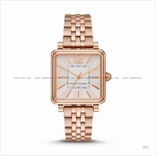 MARC BY MARC JACOBS MJ3514 Vic 3-hand Square SS Bracelet Rose Gold