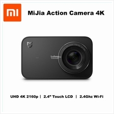 Xiaomi MiJia 4K Action Camera Small Sport Cam 2160p WiFi 2.4' Touch