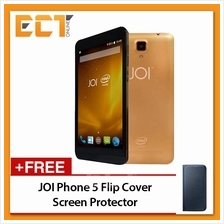 JOI Phone 5 (8GB + Case + Screen Protector) - Gold