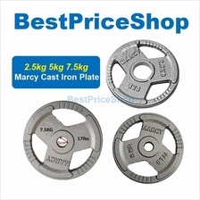 5cm Olympic MARCY Cast Iron Dumbbell Barbell Weight Plates 2.5 5 7.5kg