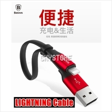 IPHONE 5 5S 6 6S 7 PLUS 23CM Baseus Nimble 2A Lightning Data USB Cable