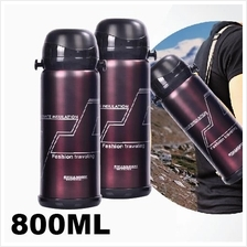 Stainless Steel Flask Thermos 800ML Vacuum Pot Hot&Cold Outdoor Bottle