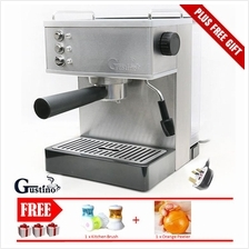 19 Bar GUSTINO GS690 Stainless Steel Italian Espresso Coffee Machine