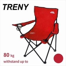TRENY Folding Portable Sport Director Chair For Indoor-Red