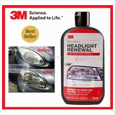 39162 3M Headlight Renewal, Car Headlamp Polish Cleaning, Cleaner