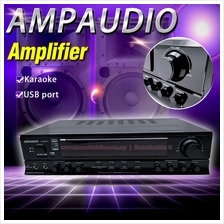 AMPAUDIO Professional Karaoke Amplifier With FM Radio