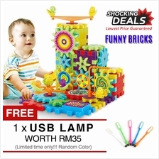 Brain Development Funny Bricks Construction Educational Block Toys