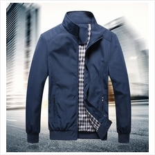 Men Windbreaker Jacket Waterproof Casual Blazer Sportswear Suit Coat