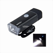 Machfally Waterproof USB Rechargeable Aluminum Bicycle Front Light