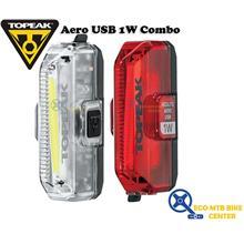 TOPEAK Aero USB 1W Combo - Lamp / Light