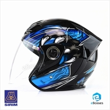 Space Crown Helmet Phoenix 5 STK with Adjustable Functional Air Vents