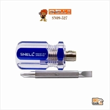 SNELL 50MM 2in PH2/6.0mm 2-Way Crystal Handle Screwdriver SN09-527