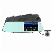 Car Camcorder - 5'' Dual Lens Car DVR Harga Price Malaysia | Rear-View