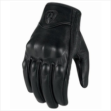 Icon Pursuit Motorcycle Full Leather Glove - Free Shipping