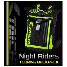 RS TAICHI Motorcycle RSB272 Weatherproof Backpack with Safety LIGHT