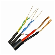 CCTV Cable UTP Cat. 5e Cable and Power Cable & Connectors