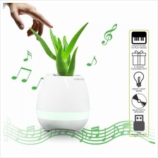 Smart Music Flower Pot Wireless Bluetooth Speaker LED Night Light