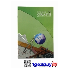 GRAPH / A4 NOTE BOOK / 80PGS / S-8014