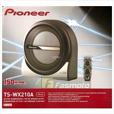 Pioneer TS-WX210A Space-saving 8 inch Sealed Active Subwoofer (50W)