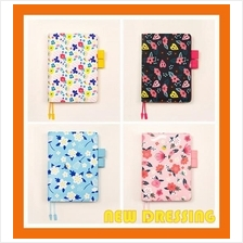 DR030 - A5/A6 Floral Refillable Diary/Notebook
