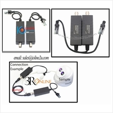 100m Ethernet LAN Extender IP over Coaxial cable RG6/RG-59 Lift CCTV IPTV TVBo