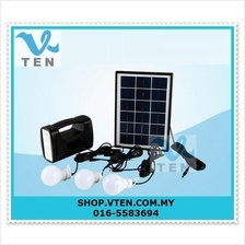 Portable Solar Generator 5W Solar System Camping Light With 3 Lamp