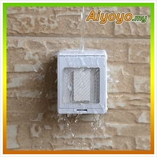 Outdoor Electrical Push Button Door Bell Waterproof Switch Box Home Wa