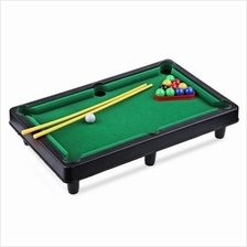 MINI BILLIARD BALL SNOOKER POOL TABLE TOP GAME SET ENTERTAINMENT PROPS FOR KID