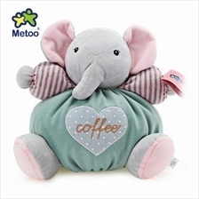 METOO STUFFED PLUSH DOLL TOY BIRTHDAY CHRISTMAS GIFT FOR BABY (LIGHT GREEN)
