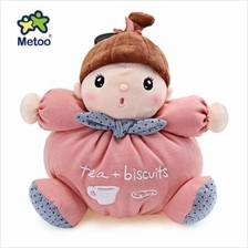 METOO STUFFED PLUSH DOLL TOY BIRTHDAY CHRISTMAS GIFT FOR BABY (PINK)