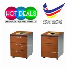 AM3 Moblie Pedestal 3 Drawer Office Mobile With Lock Key Roller