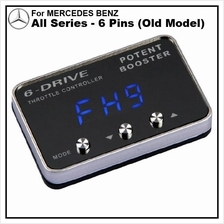 MERCEDES BENZ All Series (6 Pins Old Model) POTENT BOOSTER 6-Drive
