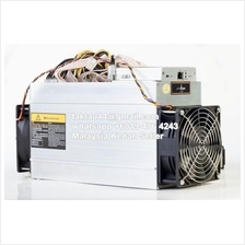 AntMiner L3+ 504MH/s ASIC Litecoin Miner Mining with Power Supply