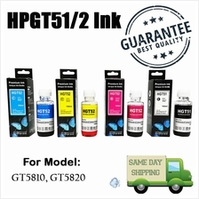 HP GT Series (HGT51/2) Hybrid REFILL Ink CYMK ALL COLOR 100ML For GT 5810, GT5