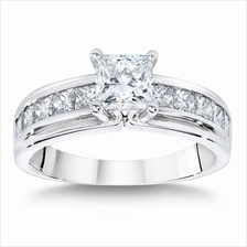 Elfi 925 Genuine Silver Engagement Ring M23 - The Grand Solitaire