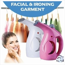 Mini Portable Garment Facial Ironing Steamer Clothes Face Travel