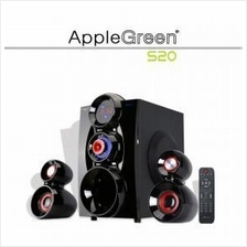 APPLE GREEN S20 Big Woofer Speaker ( FOR TV, COMPUTER , PHONE , TAB )