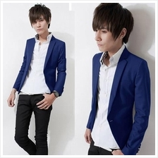 T009319 Korean Casual Slim Fit Suit Coat Stylish Jacket