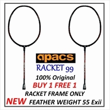 Apacs(2pcs) Feather Weight 55 EX II (exclusive model)Badminton Racket