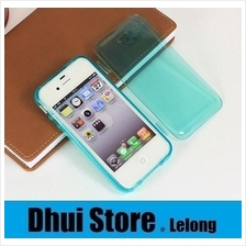 Transparent Flip Soft Series Casing For iPhone 5/5S