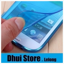 Transparent Flip Soft Series Casing For Galaxy S3 SIII i9300