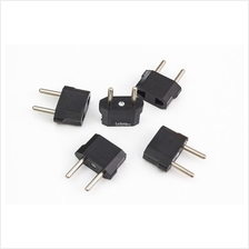 5 Pieces Pack CN/US to 2 Pin EU AC Travel Power Adapter Plug Converter
