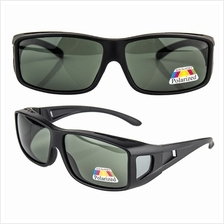 4GL SFO Polarized Flip UP Fit Over Overlap Sunglasses (UV400)