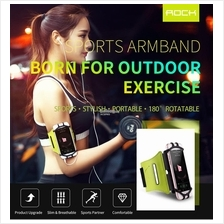 Rock Universal Sports Armband Case Cover Holder iPhone Samsung Huawei