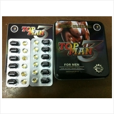 2 x Top Man 3 Capsules - hormone volume in human body
