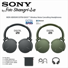 Sony MDR-XB950N1 Wireless / Wired EXTRA BASS Noise Canceling Bluetooth Headpho